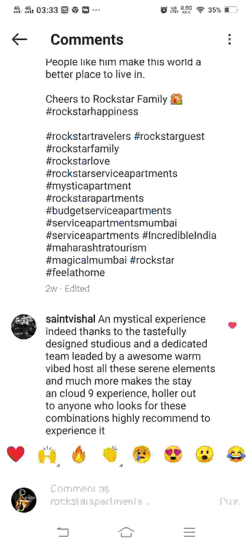 rockstar service apartments reviews